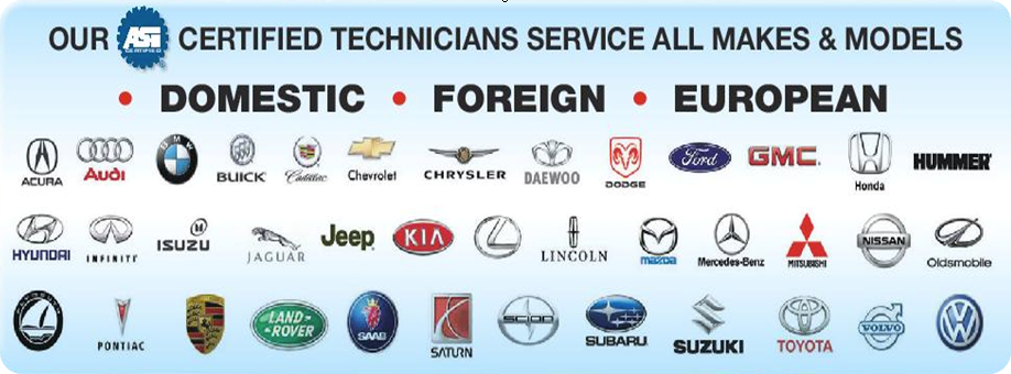 Red Automotive Logos Over 1 million satisfied
